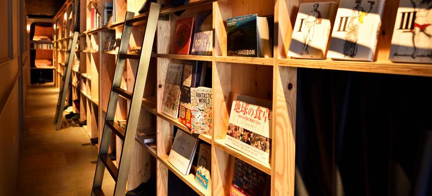 ฉีกแนวทุกโฮสเทล!ต้องที่นี่เลย BOOK AND BED โตเกียว
