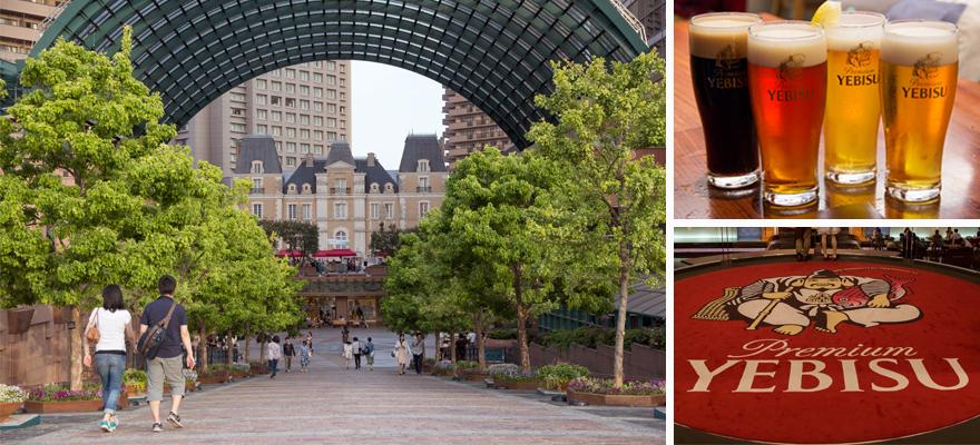 東京微醺半日遊。探訪惠比壽(YEBISU)啤酒的發祥地「惠比壽」