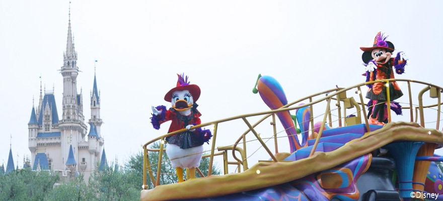 Trick or treat!東京迪士尼度假區2017萬聖節特別活動內容大公開!