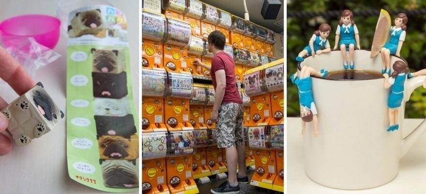 扭蛋收藏大公开,日本旅游途中来扭蛋!