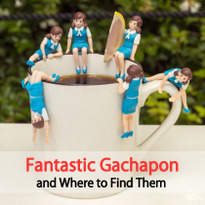 Fantastic Gachapon and Where to Find Them