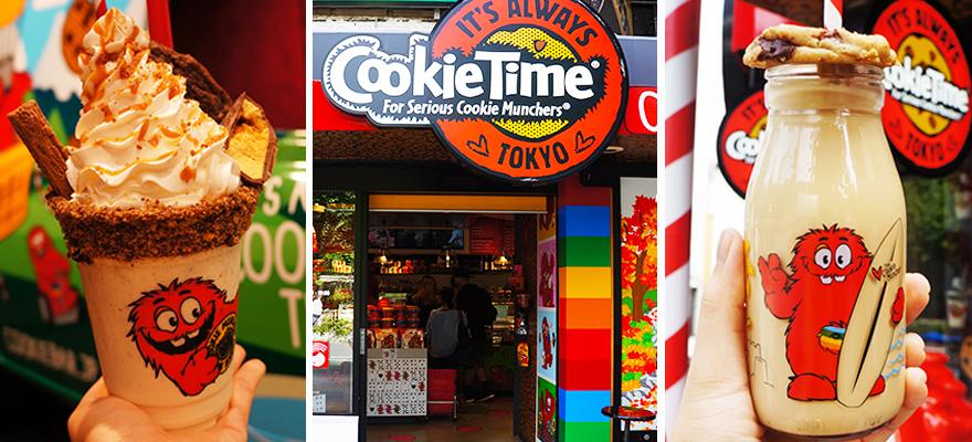 新西兰国民饼干甜点店CookieTime漂洋过海红透原宿竹下通