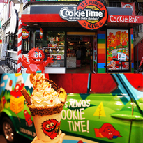 网红无国界!新西兰国民饼干甜点店CookieTime漂洋过海红透原宿竹下通