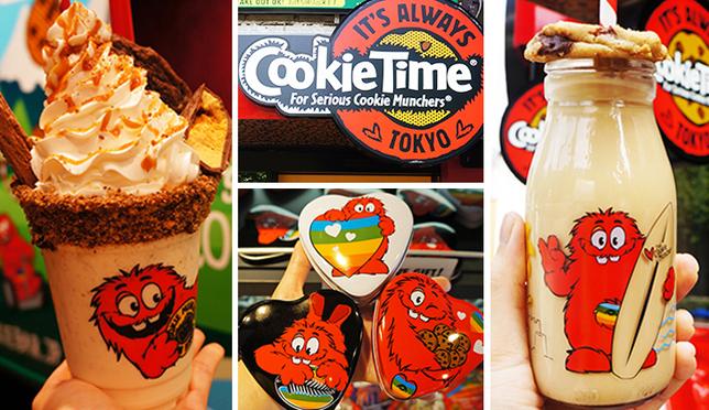 原宿竹下通繽紛火紅甜點店CookieTime!日本妹最愛瘋上傳名店!