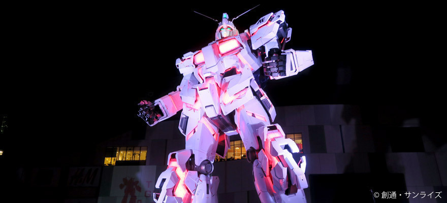 The Life-Sized Unicorn Gundam Statue Debuts in Odaiba! A Photo Report from the Spectacular Show
