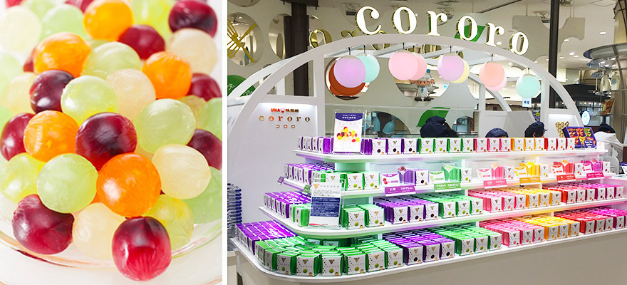 まるで果物!新食感のグミ『cororo』の人気専門店が大阪に!