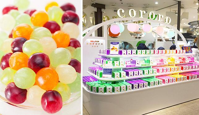 人气零食王cororo水果软糖在大阪开了专卖店