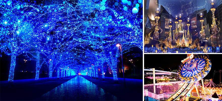 이번 겨울 가고 싶은 도쿄의 일루미네이션 명소 5선 (2017년~2018년)