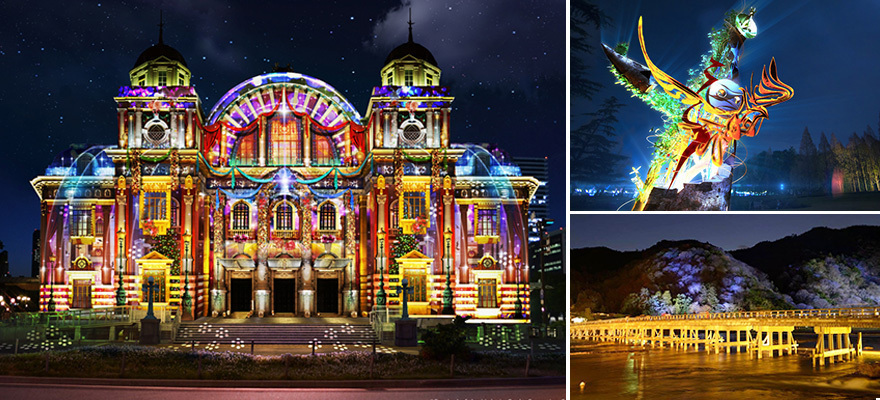Glittering Light Festivals! 6 Must-See Winter Illuminations in Osaka, Kyoto and Kobe 2017-2018