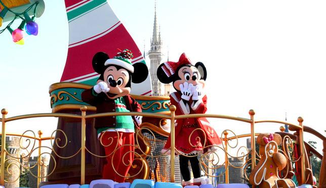 2017东京迪士尼度假区圣诞特别攻略