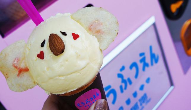 原宿人气店!THE ZOO动物造型冰淇淋萌到你融化