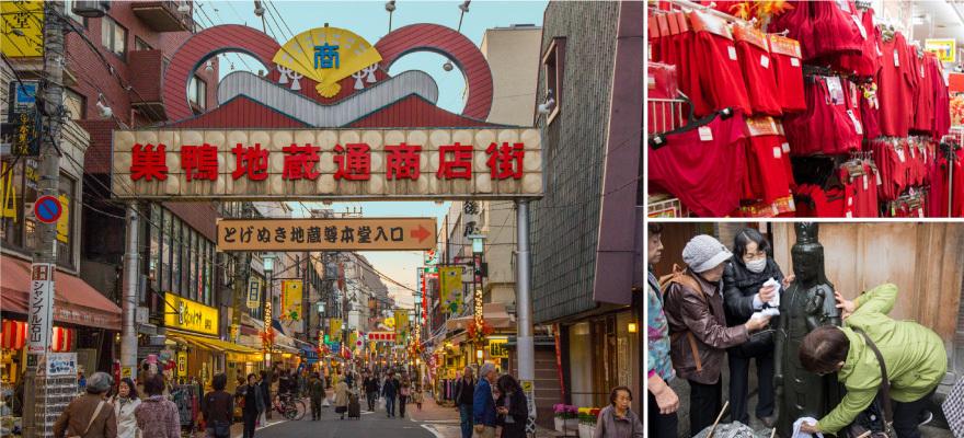 東京在地生活「巢鴨地藏通商店街」日本婆婆媽媽們的原宿!