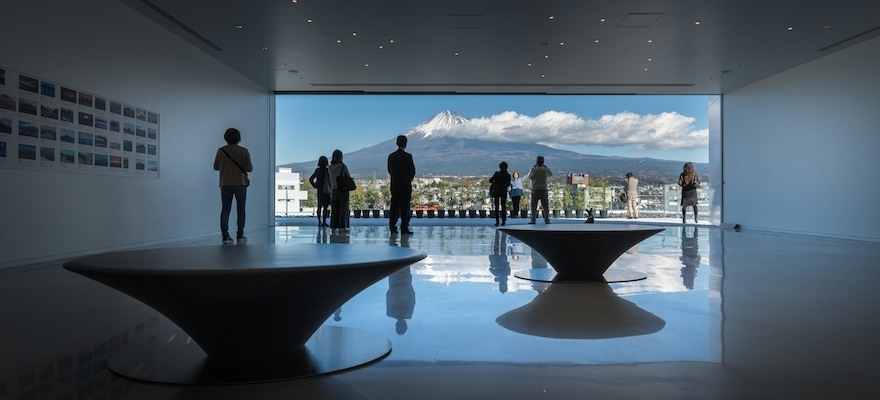 ตื่นตาตื่นใจกับวิวภูเขาไฟฟูจิ!ได้ที่'พิพิธภัณฑ์ภูเขาไฟฟูจิ เวิร์ลเฮอร์ริเทจเซ็นเตอร์ '