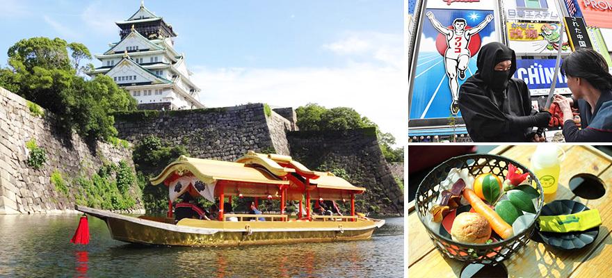 玩大阪从水上开始!六条大阪水上游览船热门行程推荐