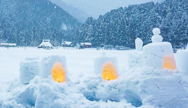 京都玩雪趁現在!京都美山町雪燈廊活動欣賞日本茅葺部落之美!