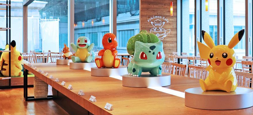 东京日本桥宝可梦官方店和主题咖啡店开张迎客