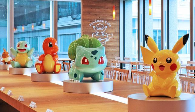 與寶可夢精靈們共進下午茶!2018年新開幕的超萌寶可夢咖啡廳!