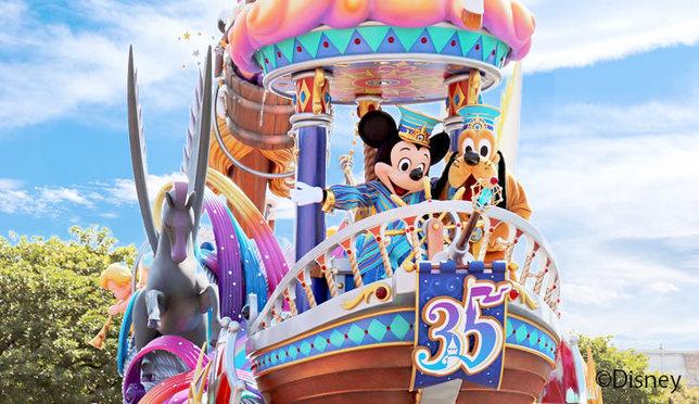 パレードもグッズも見逃せない!東京ディズニーリゾート35周年「Happiest Celebration!」