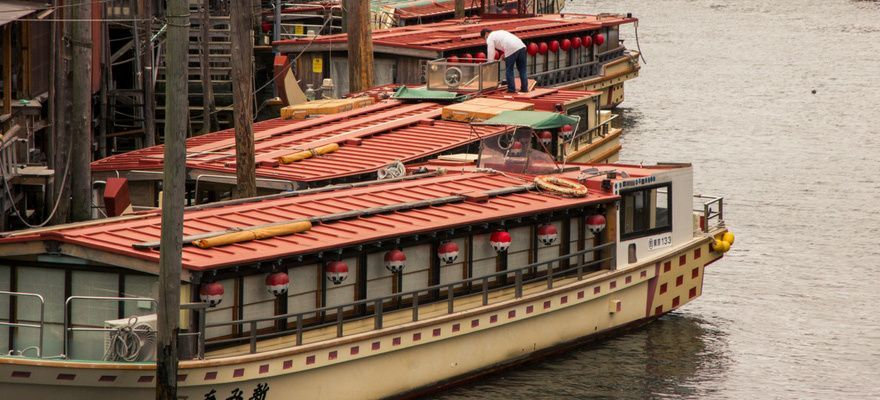 Yakatabune, Cruising Tokyo on a Traditional Japanese Boat