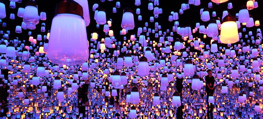 도쿄에 새로운 세계가 열리다 DIGITAL ART MUSEUM 'teamLab Borderless'