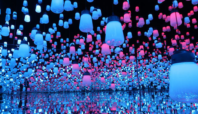 東京新去處!結合了藝術與科技的「MORI Building DIGITAL ART MUSEUM: EPSON teamLab Borderless」