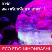 อาร์ต อควาเรียมที่อยากแนะนำ! สนุกกับเทศกาลฤดูร้อนสไตล์เอโดะกับงาน 'ECO EDO NIHONBASHI'