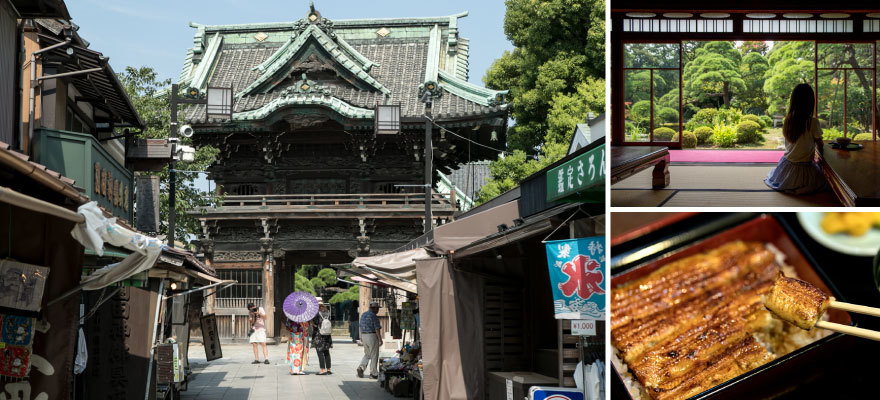 从东京晴空塔出发只要30分钟!柴又 边走边吃,体验古色古香的日本风情
