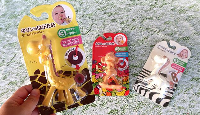 一年销售50万个的超畅销商品!给宝宝的玩具 可爱动物固齿器