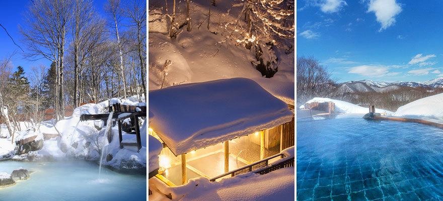 東京から日帰りで行ける!絶景の雪見風呂に入れる宿&温泉スポット7選