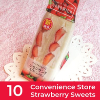 10 Strawberry Sweets from Japanese Convenience Stores