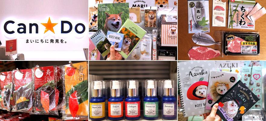 人気のコラボ商品や面白&便利グッズを一挙ご紹介!100円ショップ「Can★Do」