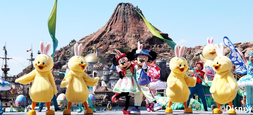 今年復活節「兔耳小雞」「兔耳蛋」當道!2019年東京迪士尼度假區復活節正在舉辦中