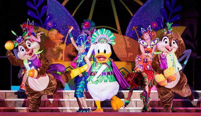 够热才能闹起来!东京迪士尼乐园夏季特别活动唐老鸭当家做主角