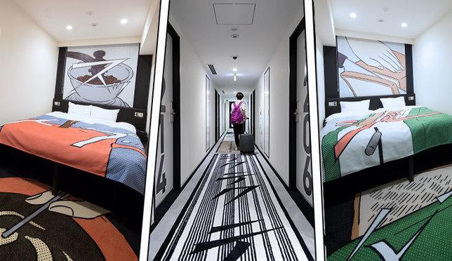 マンガをテーマにした新感覚ホテル『タビノス 浜松町』2019年8月オープン!
