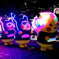 夜の横浜みなとみらいに2000匹以上のピカチュウ!「ピカチュウ大量発生チュウ!2019」