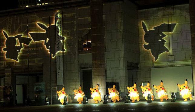 快来!横滨港未来夜晚2000只皮卡丘正在大量发生中