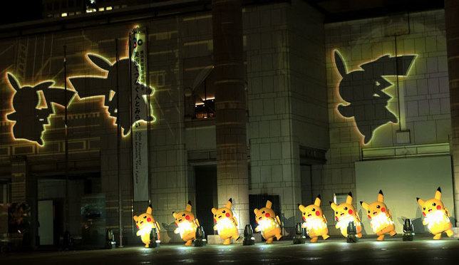 快來!橫濱港未來夜晚2000只皮卡丘正在大量發生中