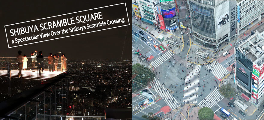 Shibuya Scramble Square: The New Shopping Hub With a Spectacular View Over the Shibuya Scramble Crossing