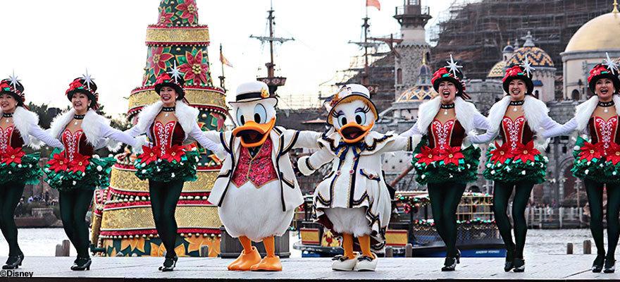 快來與米奇唐老鴨共度聖誕節!東京迪士尼聖誕2019正在舉行