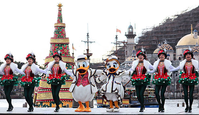 東京「ディズニー・クリスマス2019」が開催中