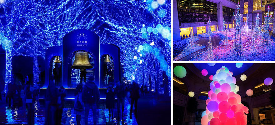 6 Must-See Winter Illuminations  in Tokyo for 2019-2020