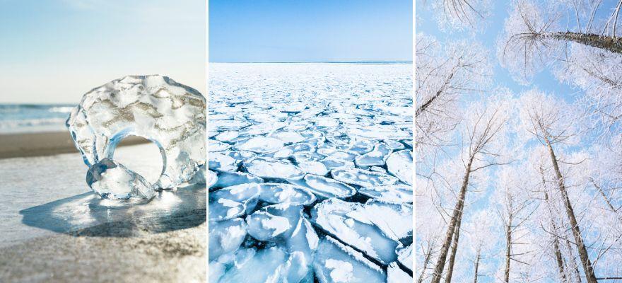 厳冬期にしか見られない幻想的な風景 北海道で出会える「雪と氷のアート」7選