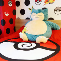 Sleep With a Giant Snorlax in Apartment Hotel Mimaru's Pokémon Room!