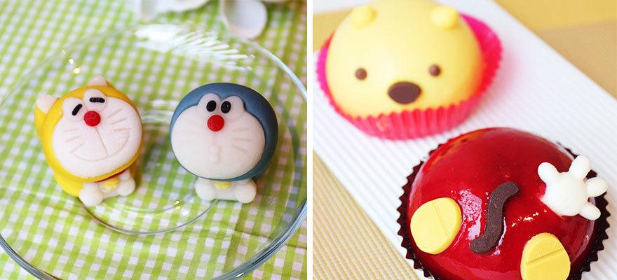 น่ารักจนทานไม่ลง! แนะนำขนมรูปจาก Doraemon และ Mickey Mouse ในร้านสะดวกซื้อญี่ปุ่น