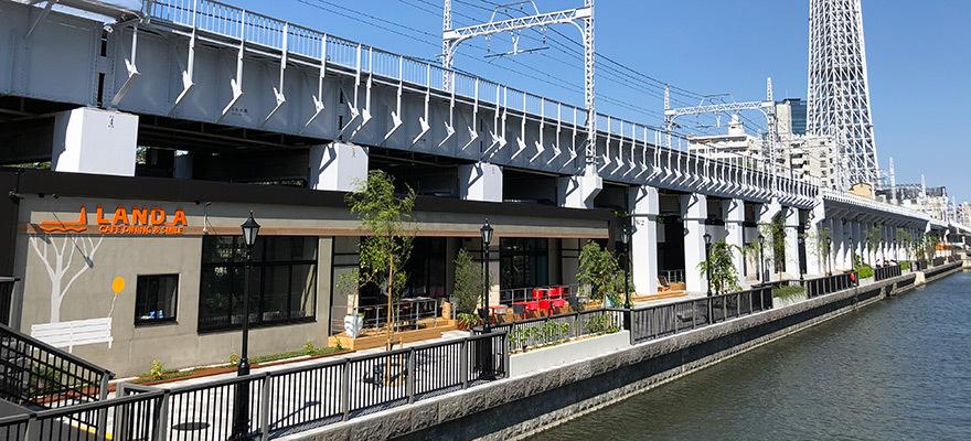 東京新名所再發現!連接淺草和東京晴空塔®間的景點「東京mizumachi」開幕啦~