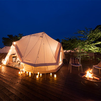 Glamping with fantastic view! At ETOWA KASAMA