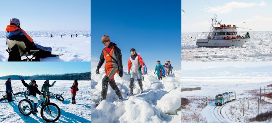 The Top 5 Experiences to Enjoy Drift Ice in Hokkaido!