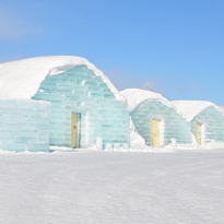 โรงแรมน้ำแข็งในฮอกไกโด ICE HILLS HOTEL