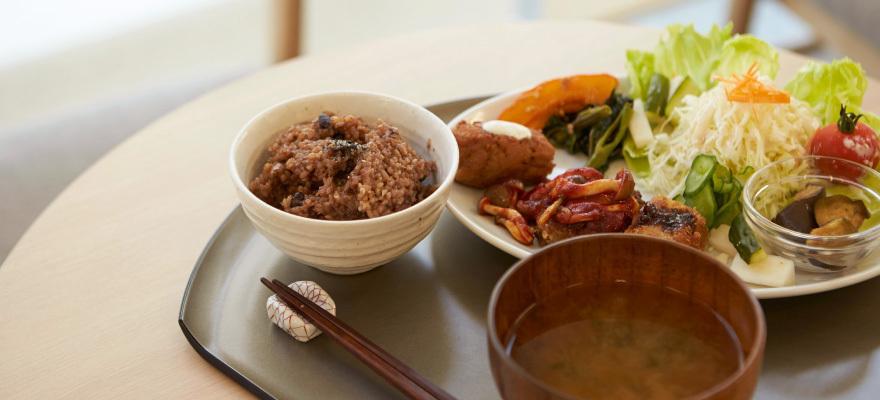 일본 도쿄 아사쿠사 채식 카에몬 메인