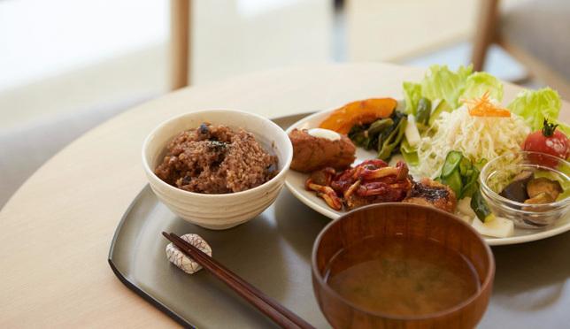일본 도쿄 아사쿠사 채식 카에몬 대